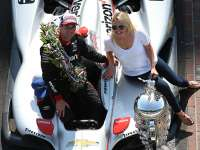 Liz Power's Premonition Comes True for Husband to Win Indy 500