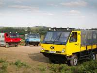 Shell brings the Global Vehicle Trust OX: the inventive flat-pack truck, to India