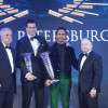Mercedes-AMG Petronas Motorsport and Lewis Hamilton receive FIA Formula One World Championship trophies