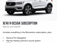 Volvo's Gustafsson Sells Subscriptions – No Cars Displayed At NAIAS