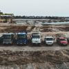 Mercedes-Benz commercial vehicles in off-road operations