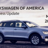 VOLKSWAGEN OF AMERICA REPORTS APRIL 2019 SALES RESULTS