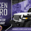 Nexen Tire USA, Purple Heart Foundation Team up for Second Time to Honor Combat-Wounded Veteran with 2020 Jeep Gladiator Giveaway
