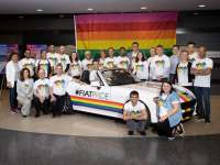 FCA US and FIAT Brand Lead the Motor City Pride Parade