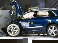 2019 Audi e-tron Earns IIHS Highest Safety Award