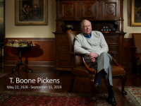 A Final Message From Our Friend T.Boone Pickens