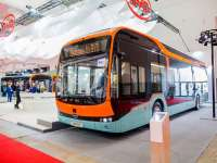 BYD unveils new 12-meter 'bus of the future' at Busworld Europe 2019