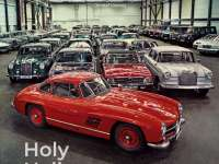 The Secret Car Collection of Mercedes-Benz - Holy Halls.