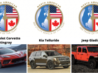 Winners of the 2020 North American Car, Utility and Truck of the Year: Chevrolet Corvette, Kia Telluride, Jeep Gladiator