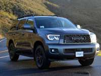 2020 Toyota Sequoia 4x4 TRD PRO 5.7L V8 Review by David Colman +VIDEO