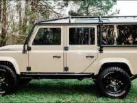 1986 DEFENDER 110 TRANSFORMED TO MODERN LUXURIOUS OFF ROADER