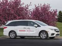 Honda Modifies Odyssey To Transport Detroit Residents For Covid Testing