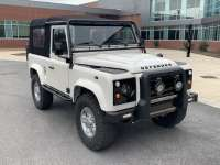 STUNNING NEW/OLD FUJI WHITE 1993 DEFENDER FROM OSPREY CUSTOM CARS