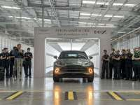 Milestone Moment: First Aston Martin DBX Drives Off The Production Line +VIDEO