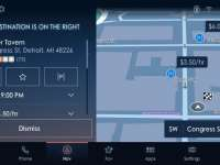 Connected Ford SYNC 4 with Next-Gen INRIX Technology Steers Drivers