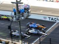 Sato Wins as Honda Dominates the Indianapolis 500