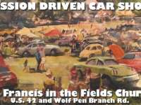 Harrods Creek Kentucky St. Francis In The Fields Mission-Driven Car Show October 3, 2020