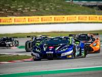Lamborghini claims victory and podium in Barcelona GT World Challenge Europe