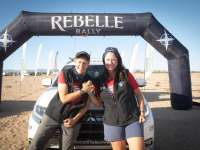 Mitsubishi Outlander PHEV make history with electrifying podium finish in 2020 Rebelle Rally