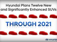 HYUNDAI REVEALS PLANS FOR TWELVE NEW AND SIGNIFICANTLY ENHANCED SUVS THROUGH 2021