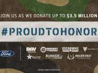 The Auto Channel- FORD PROUD TO HONOR PROGRAM WILL DONATE $3.5 MILLION TO MILITARY CHARITIES THIS HOLIDAY SEASON