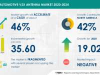 Automotive V2X Antenna Market Growth to Accelerate at 46% CAGR Through 2024 | Drive Toward Autonomous Vehicles to Emerge as a Key Trend | Technavio