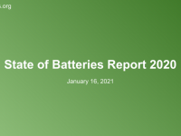 State of Batteries 2020