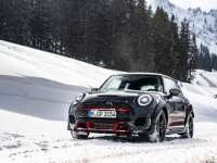 The MINI John Cooper Works GP. Not even ice and snow can slow it down