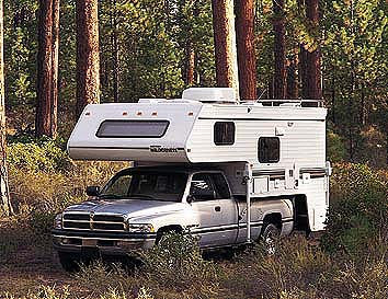 onto or affixed to the bed or chassis of a pickup many have kitchen