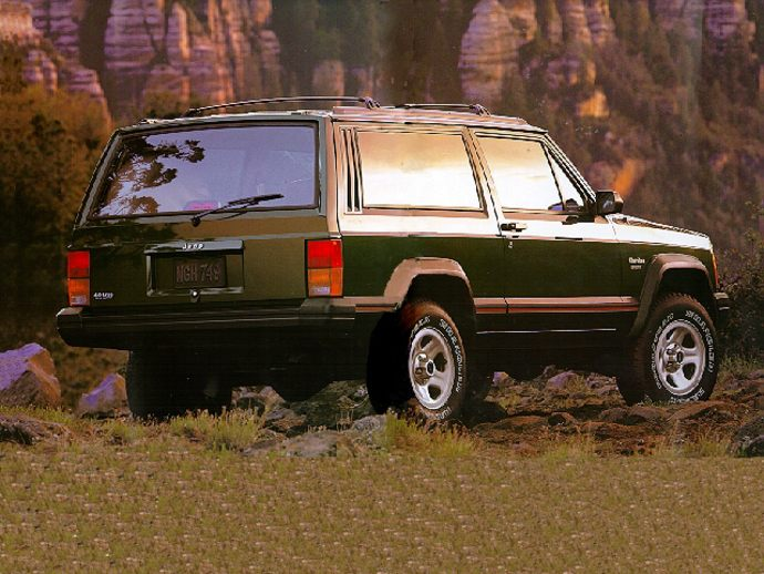 Review 1997 Jeep Cherokee Country By John Heilig