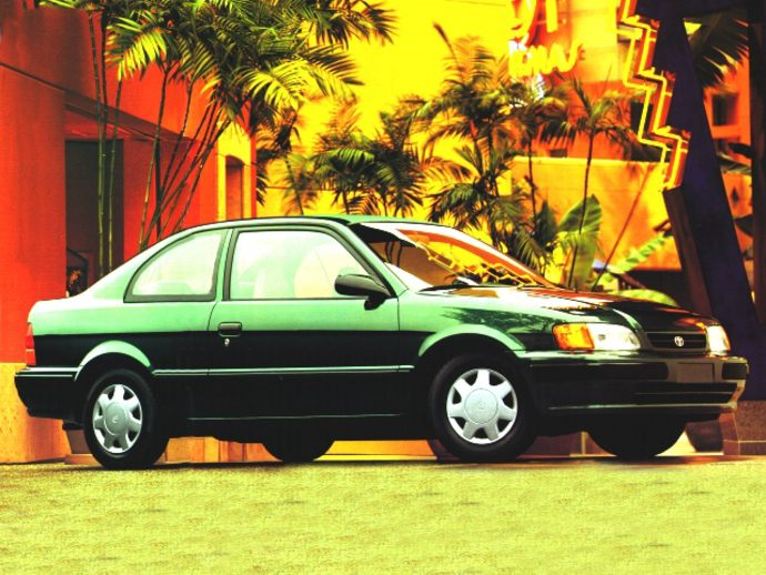 toyota tercel redhawk 1997 takes flight with limited edition blackhawk toyota tercel redhawk 1997 takes