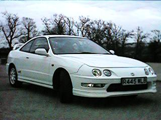 Integra Type R Front View