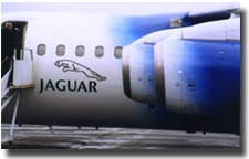 jaguar air plane