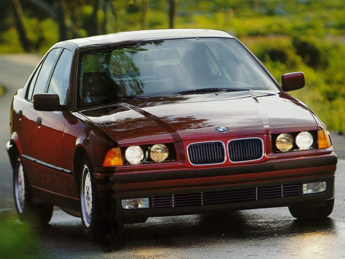 1994 BMW 325i Convertible (When It Was New) Review