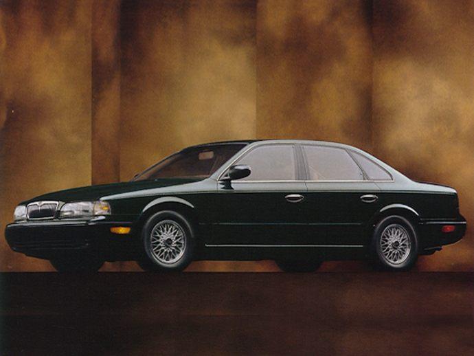 1994 INFINITI Q45t TOURING SEDAN. by: BILL RUSS