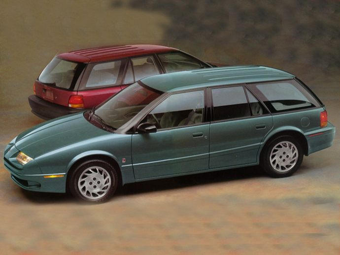 1994 SATURN SW2 STATION WAGON