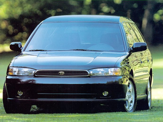 There's more to the 1995 Subaru Legacy Wagon than a new body and platform.