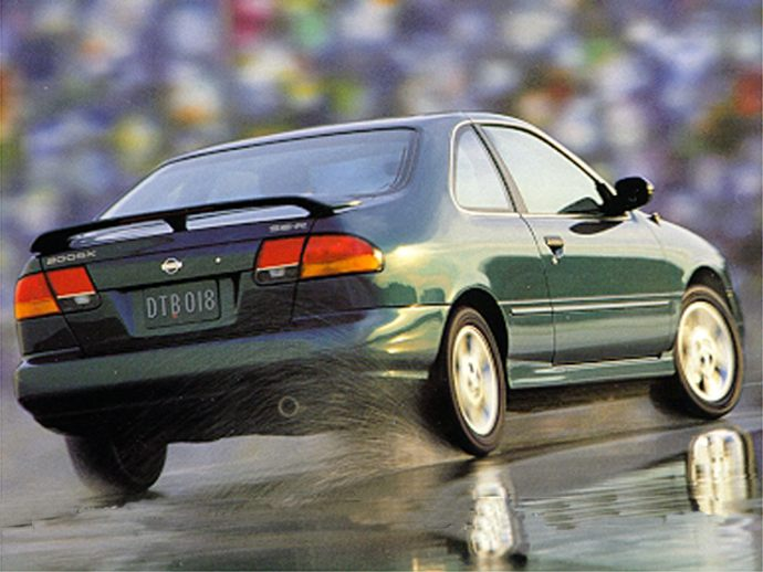 1995 NISSAN 200SX SE-R TWO-DOOR COUPE. by: BILL RUSS