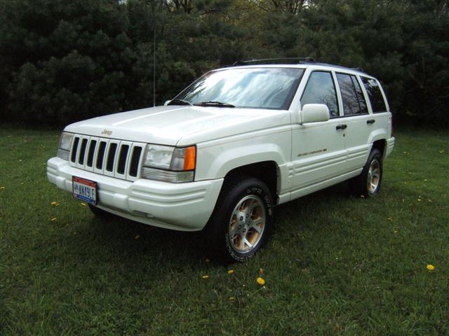 new car review: 1996 jeep grand cherokee limited