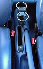Cupholders and Storage slot