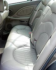 Rear seat side angle