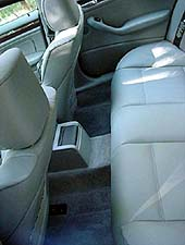 rear seat legroom