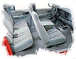 2000 Dodge Dakota Interior