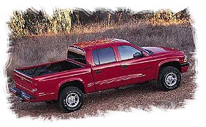 Side on 2000 Dodge Dakota Sport Bed Size